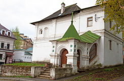Дом Питера взгляда весны, самый старый жилой дом в Nizh Стоковые Фотографии RF