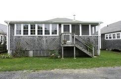 дом плащи-накидк пляжа Стоковое фото RF