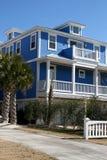дом пляжа передний Стоковая Фотография RF