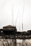 дом пляжа Стоковые Фотографии RF