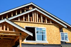Дом под конструкцией Стоковая Фотография RF
