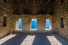 Дом попечителей Machu Picchu губит перуанские Анды Cuzco p Стоковые Фотографии RF