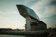 Дом порта, Антверпен, Бельгия, архитекторы Zaha Hadid Стоковая Фотография