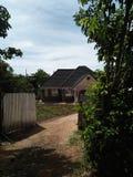 Дом построенный камней стоковое изображение