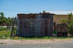 Дом посёлка, освободившееся государство, Южная Африка Стоковое Изображение