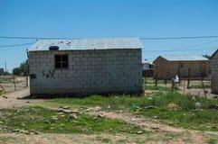 Дом посёлка, освободившееся государство, Южная Африка Стоковое Фото