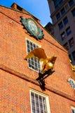 Дом положения Бостона старый в Массачусетсе стоковая фотография