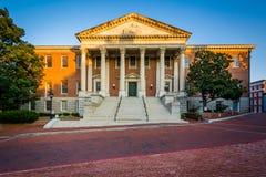 Дом положения Мэриленда в городском Аннаполисе, Мэриленде стоковая фотография