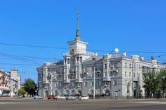 Дом под шпилем в Barnaul, России Стоковое Изображение RF