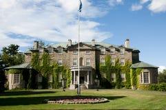 Дом правительства - Fredericton - Канада стоковые фотографии rf