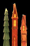 дом праздника украшений Стоковые Изображения