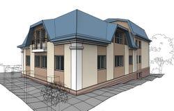 дом приватная Стоковое Изображение