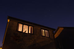 дом привидения Стоковые Фотографии RF