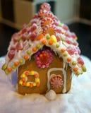 Дом пряника рождества Стоковое фото RF