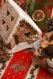Дом пряника Стоковое Изображение RF