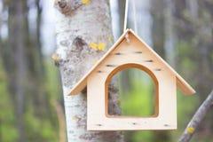 Дом птицы в парке Стоковое Фото