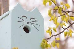Дом птицы в парке Стоковая Фотография