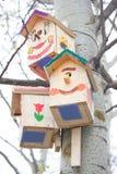 Дом птицы в парке Стоковые Фотографии RF