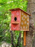 Дом птицы на дереве Стоковые Фотографии RF