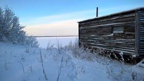 Дом рекой Стоковая Фотография RF