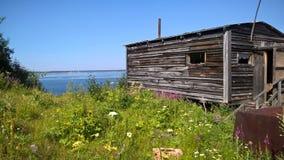 Дом рекой Стоковое Фото