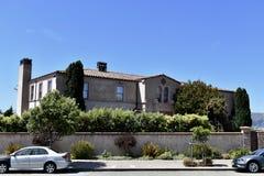Дом Робин Уильямс личный Сан-Франциско, 4 стоковые изображения