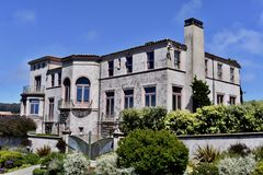 Дом Робин Уильямс личный Сан-Франциско, 2 Стоковое фото RF