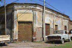 Дом рождения Juan Jose Saer в Sprodino стоковые изображения rf