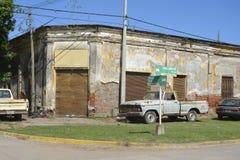 Дом рождения Juan Jose Saer в Sprodino стоковая фотография rf