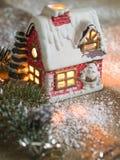 дом рождества Стоковое Изображение RF