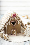 Дом рождества пряника стоковое фото