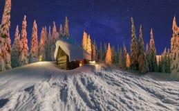 Дом рождества Стоковая Фотография