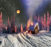 Дом рождества Стоковые Фото