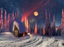 Дом рождества Стоковое фото RF