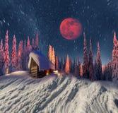Дом рождества Стоковая Фотография RF