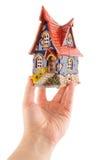 дом руки привлекательно старомодный Стоковое фото RF