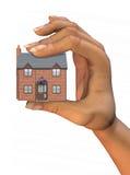 дом руки Стоковое Изображение RF