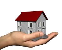 дом руки иллюстрация вектора