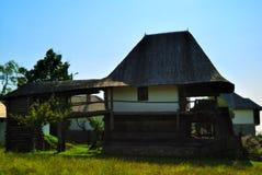 дом Румыния деревянная стоковая фотография rf