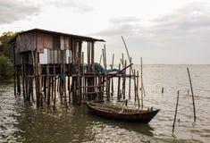 Дом рыбной ловли Стоковые Изображения RF