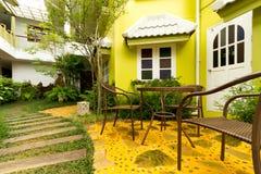 дом сада стоковые фотографии rf