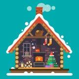 Дом Санта Клауса Стоковые Фото