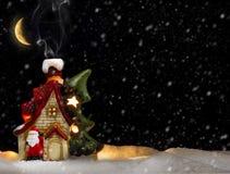 Дом Санта Клауса Стоковые Изображения