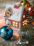 дом свечки Стоковое фото RF