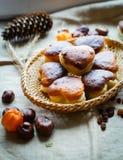 Дом сделал печенье испеченное с творогом стоковое фото