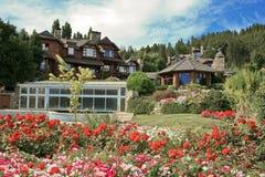 дом сельской местности роскошная Стоковое Фото
