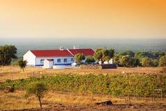 дом сельской местности Стоковое Изображение RF