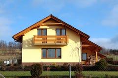 дом семьи самомоднейшая Стоковое фото RF