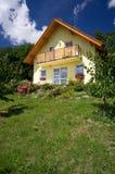 дом семьи самомоднейшая Стоковая Фотография RF