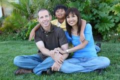 дом семьи счастливый стоковое фото